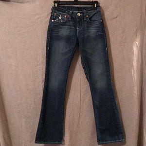 True Religion Boot Cut size 12 women's jeans Great